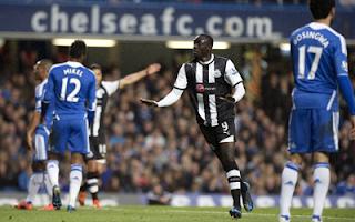 أهداف مباراة نيوكاسل وتشيلسي 2-0 في الدوري الانجليزي 2-5-2012