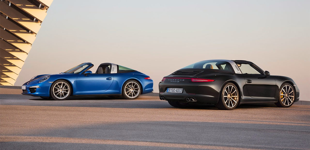 The 2014 Porsche 911 Targa