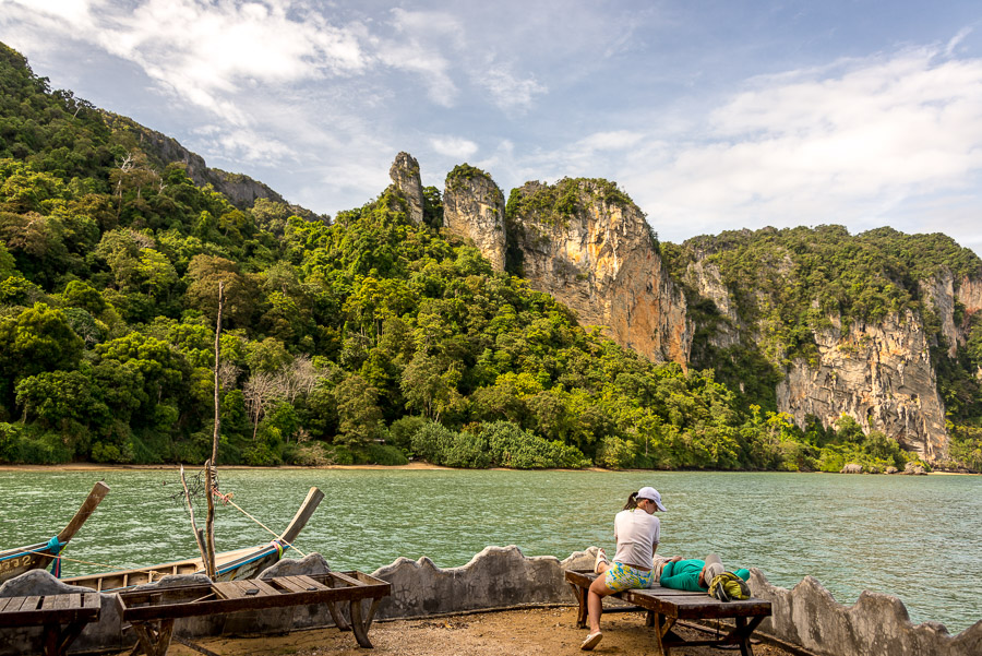 The last days on the Railay.