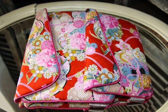 pochette ipad & ipad mini geisha rouge