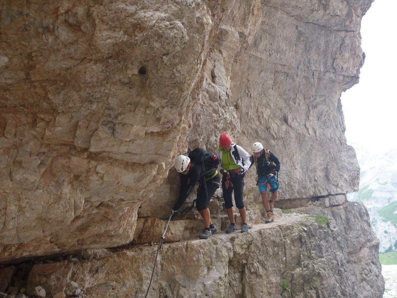 Klettersteig Drei Zinnen : Aufdiebergbinigern: übern paternkofel innerkofler de luca
