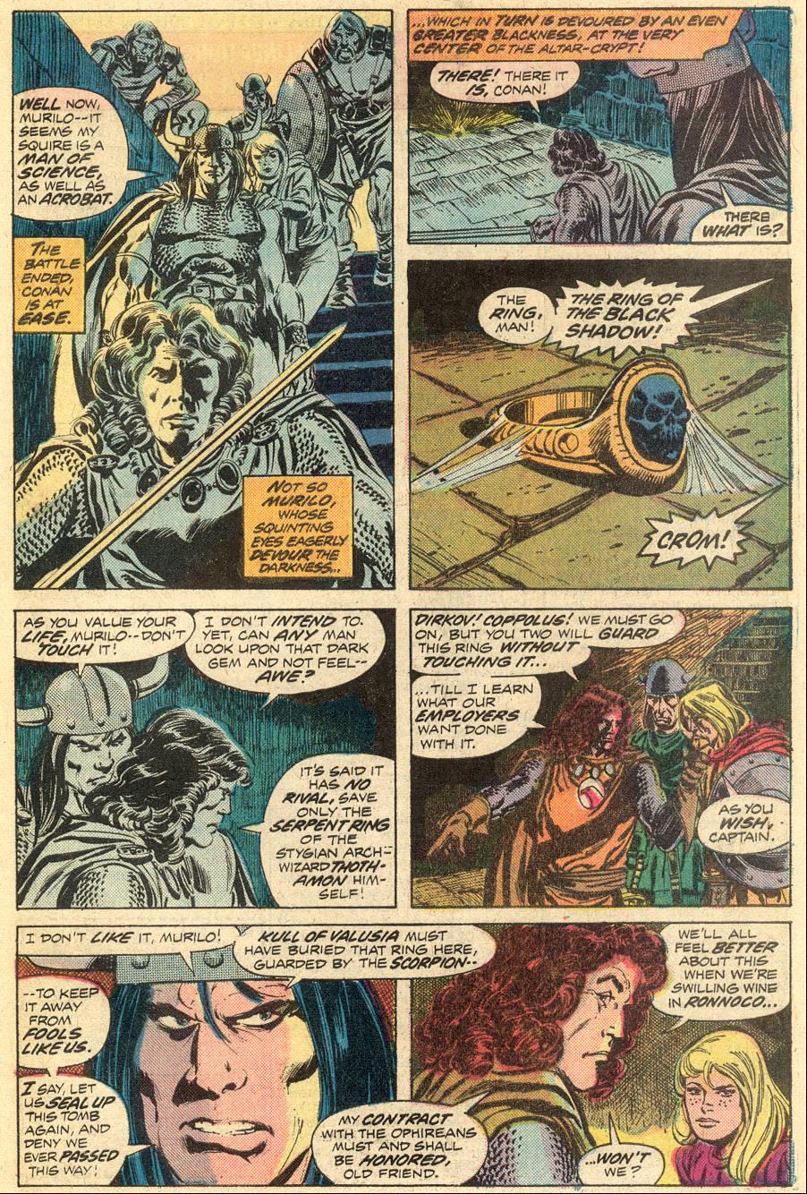 Conan the Barbarian (1970) Issue #52 #64 - English 17
