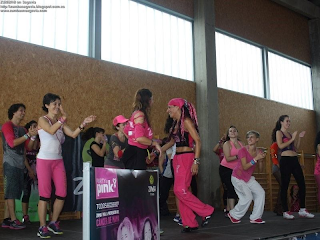 ZUMBA en Segovia en la PARTY In PINK ZUMBA en Madrid