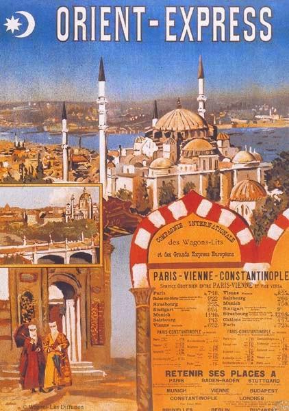 Orient Express, Paris - Vienne - Constantinopel
