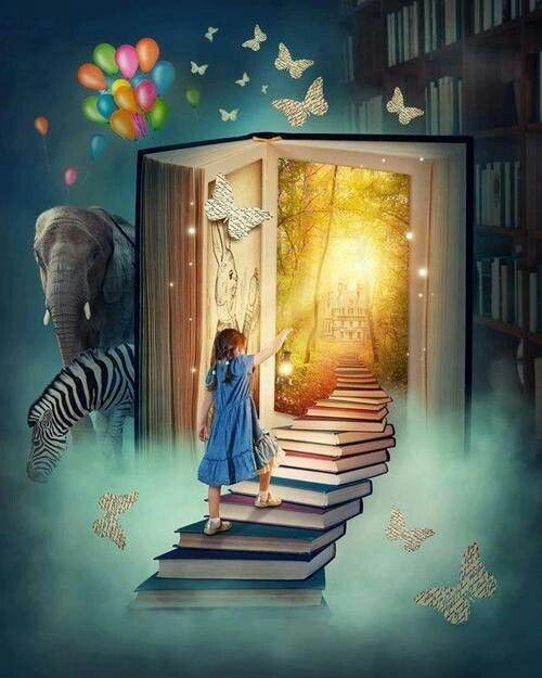 Resultado de imagen de La magia de los libros