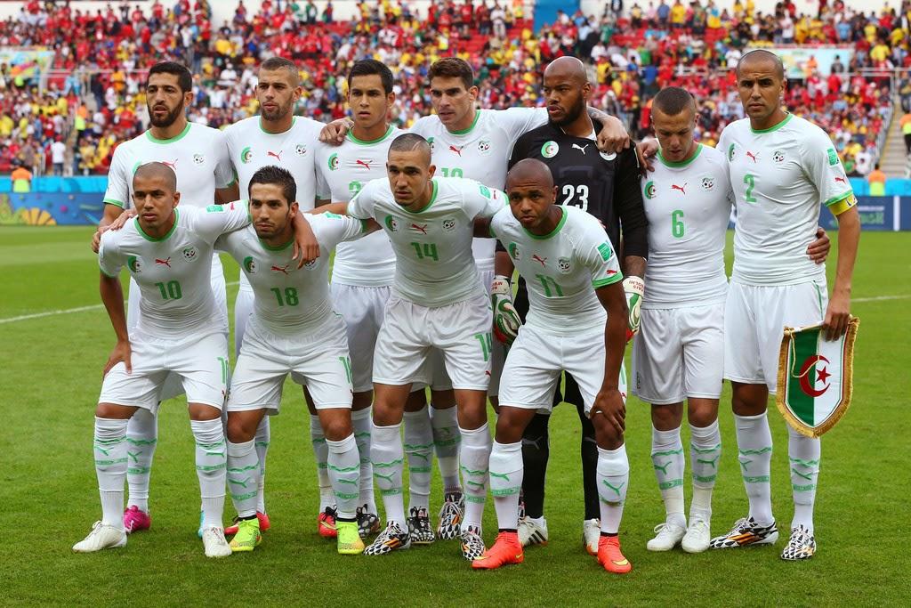 состав сборной по футболу алжира