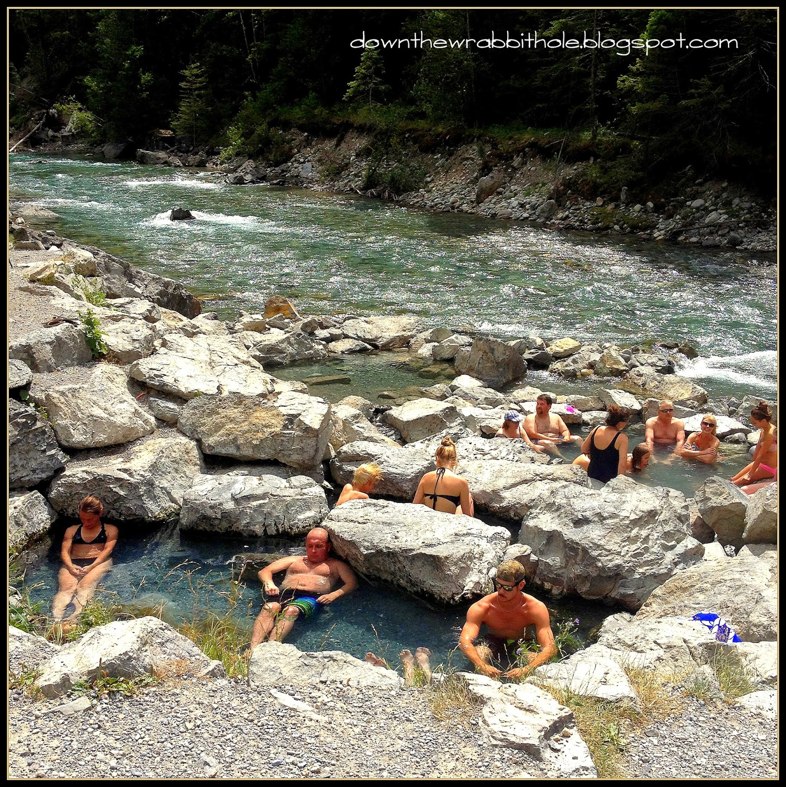 Lussier River, Whiteswan Provincial Park, natural hot springs, British Columbia