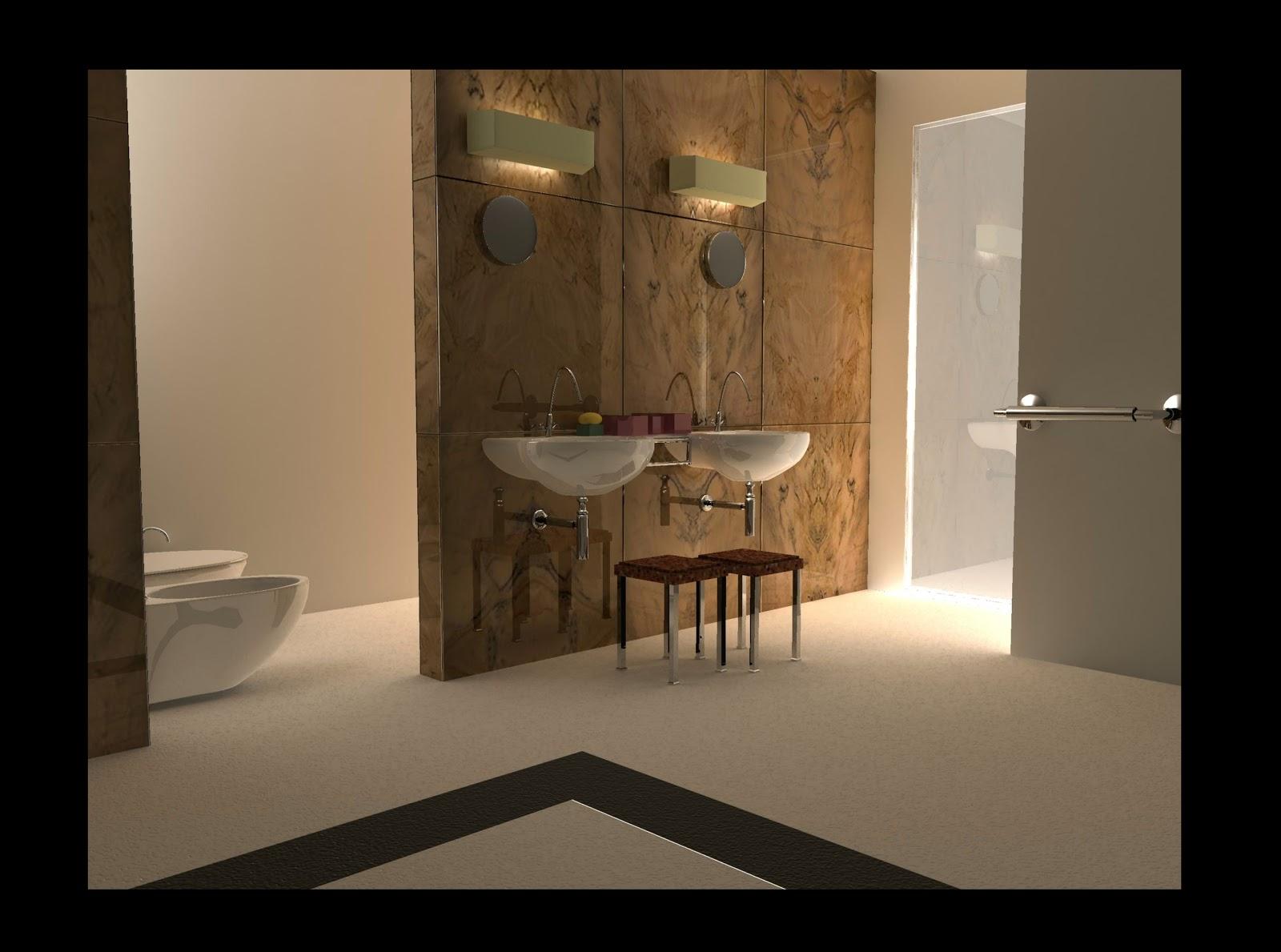 D artist creative graphic designer d visualizer bathroom