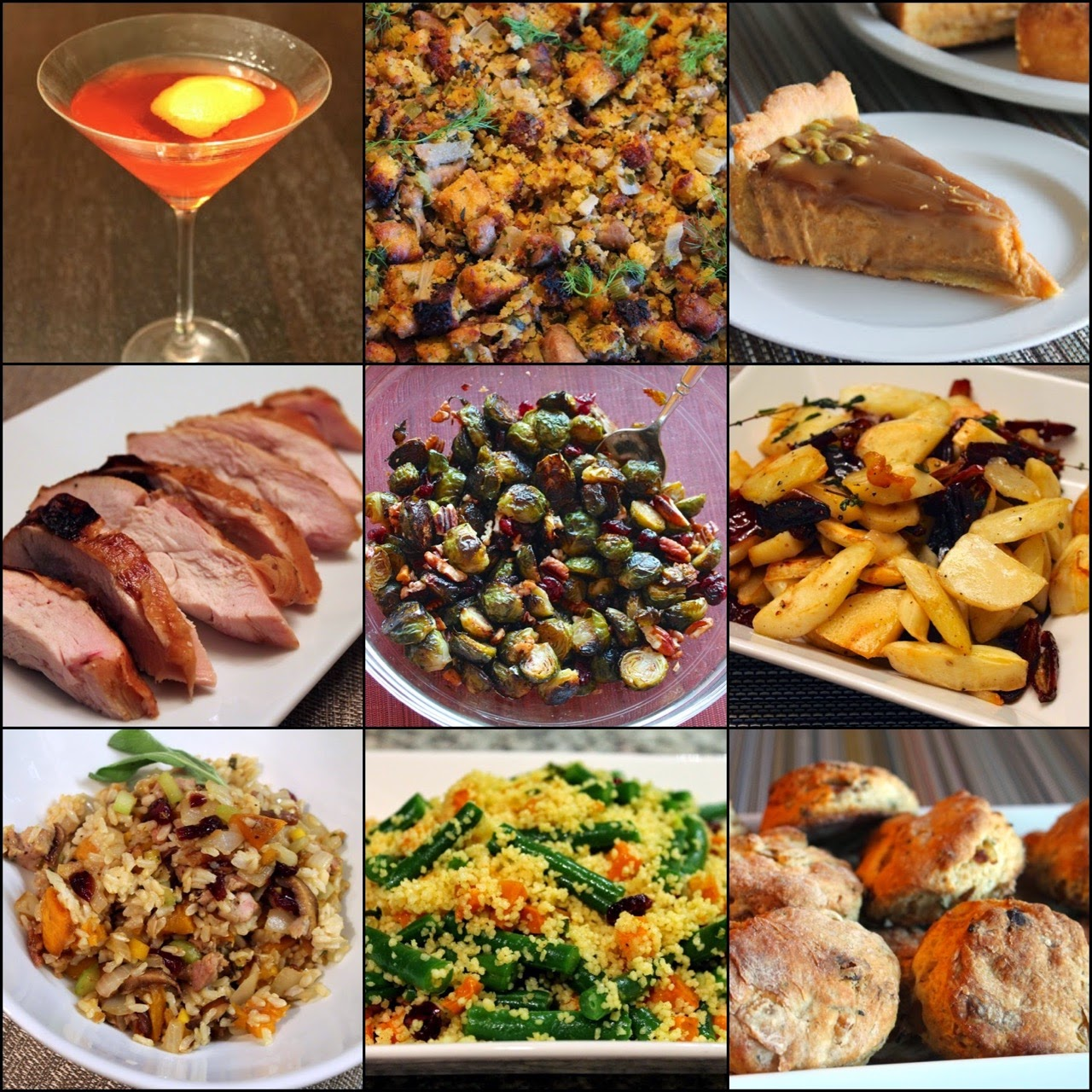 what are classic thanksgiving foods