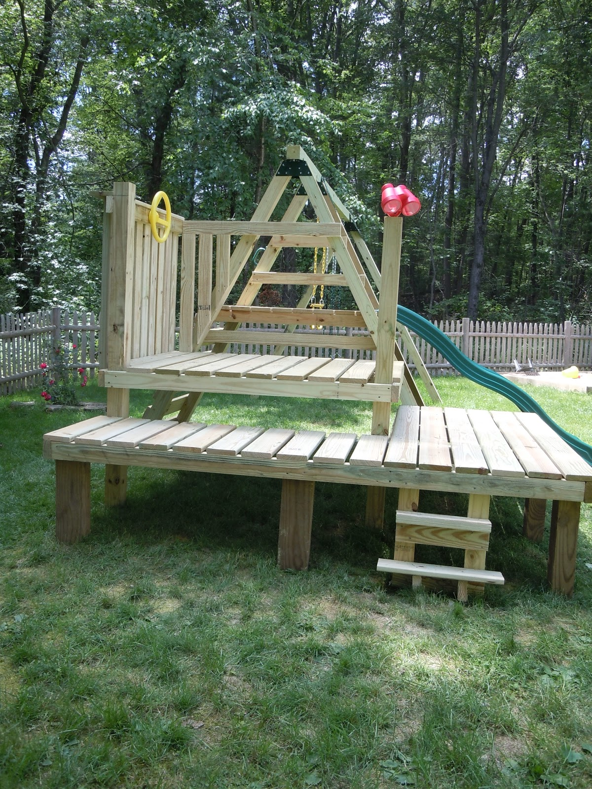 Best site for woodworking plans simple wood swing set for Wooden swing set plans