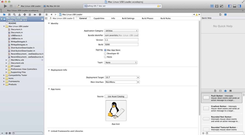 mac linux usb loader