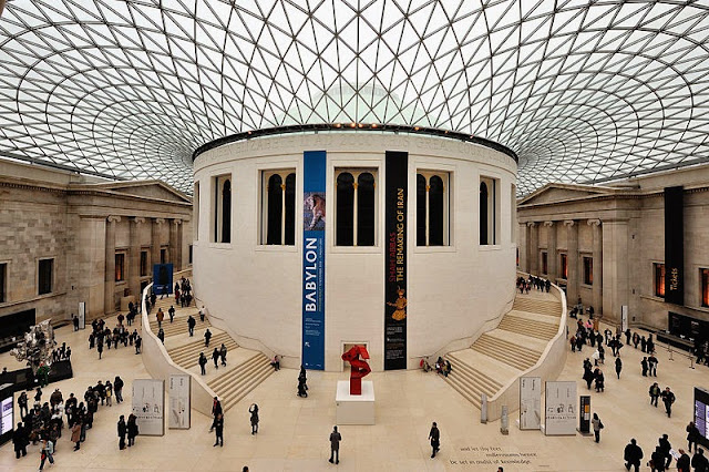 Great Court (British Library) of British Museum - London, UK | Travel London Guide