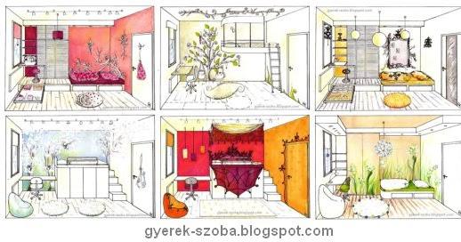 Gyerekszoba tervező és lakberendező - Gere Krisztina - Dekorációs falfestő: Kamasz szoba