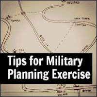 Tips for Military Planning or Group Planning Exercise