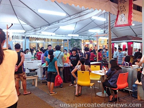 Weekend Asian Street Food Market at Lucky Chinatown Mall in Binondo, Manila