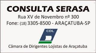 Consulta no Serasa Araçatuba