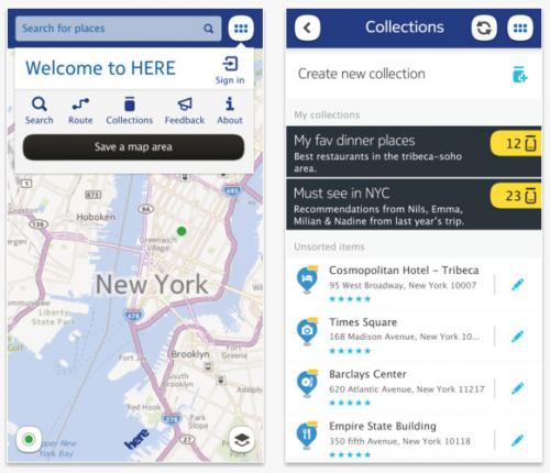 Aplikasi Nokia Here sekarang tersedia untuk Android & iOS