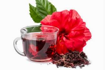 Chá de hibisco | Chá de hibiscus
