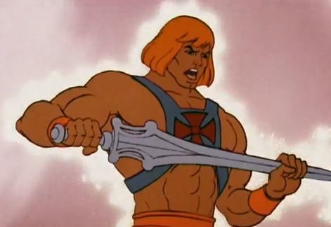 He-Man and the Masters of the Universe Prince Adam Transforms to He-Man
