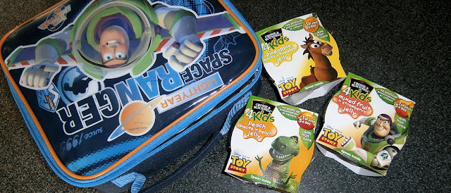 Toy Story themed Lunch box for school dinner