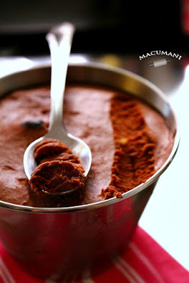 MOUSSE DE CHOCOLATE. MACUMANI