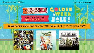 Sony Golden Week Sale