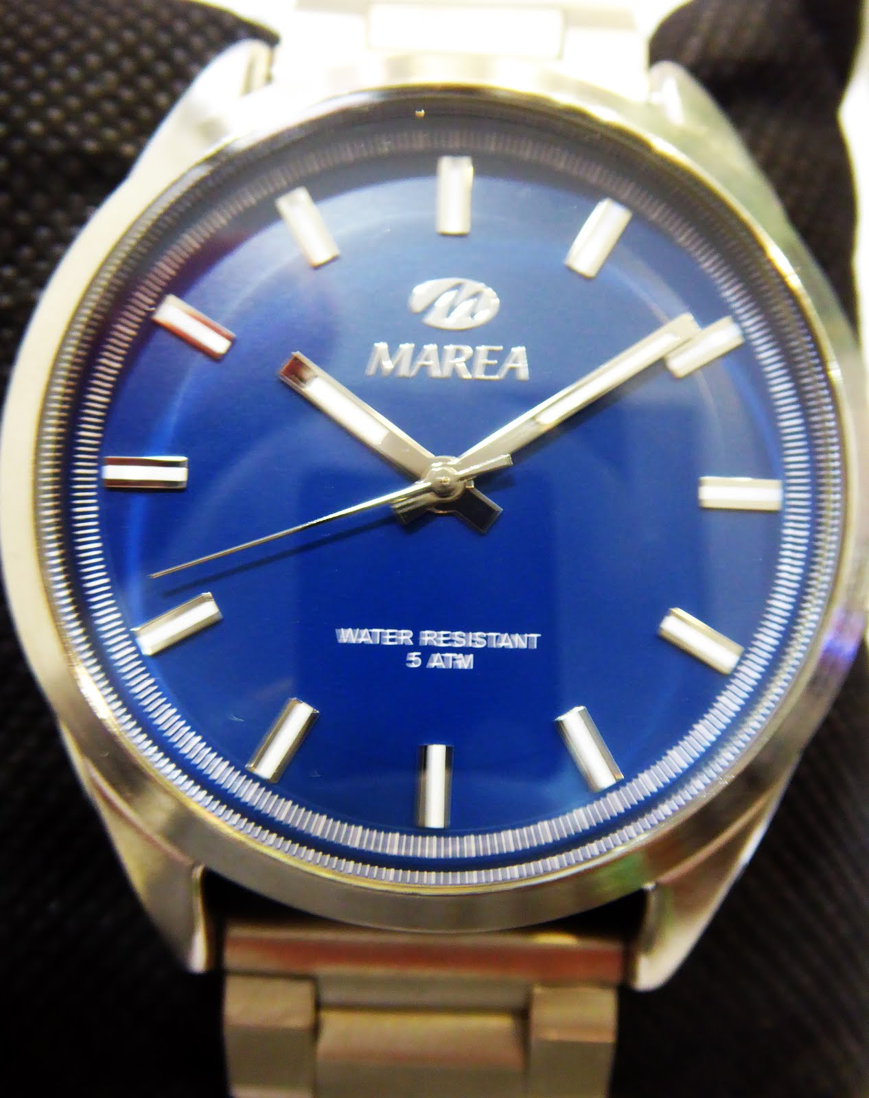 Reloj Marea caballero, pulsera acero