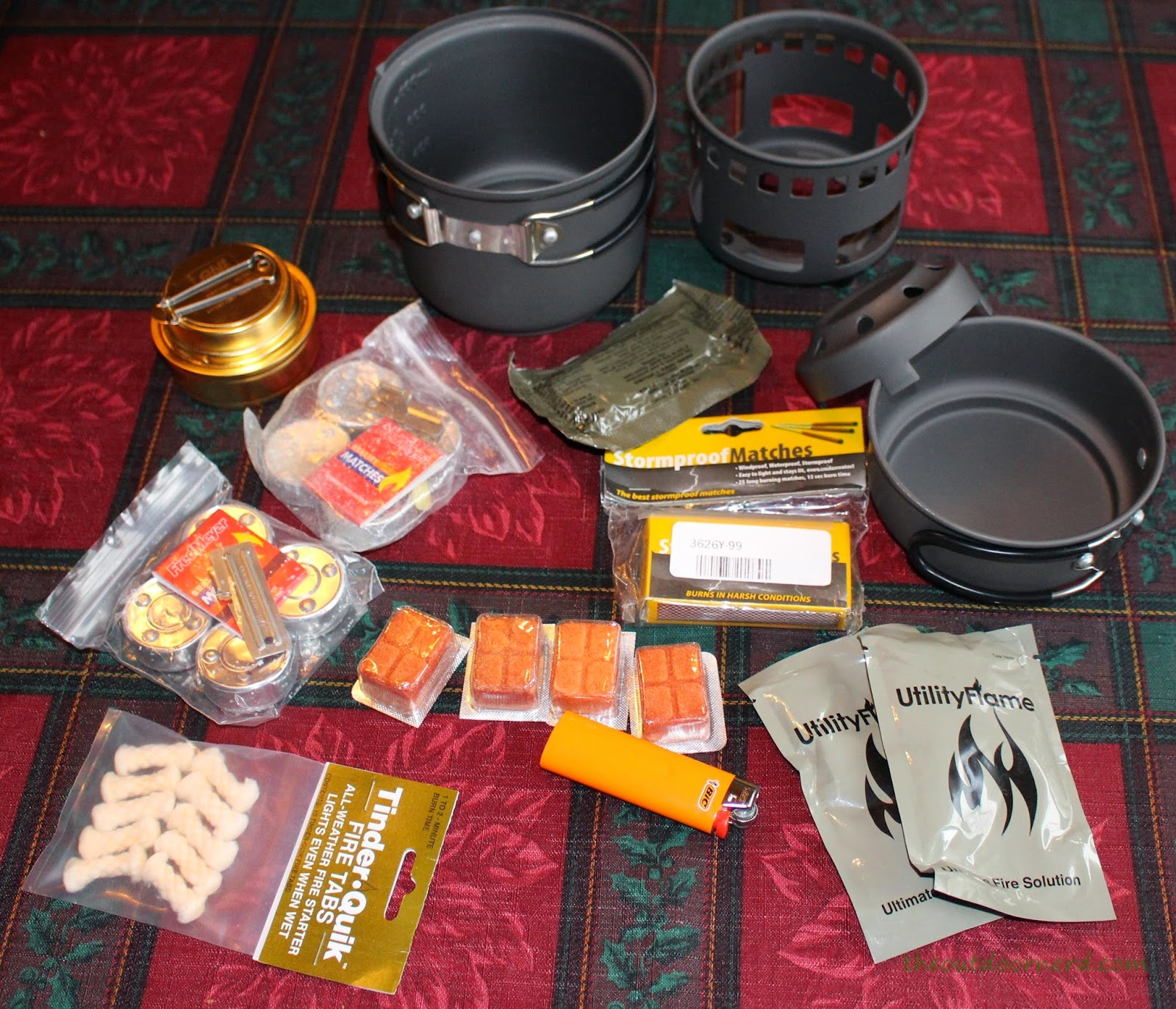 Esbit Cooking Kit Packed with Extras 2