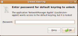 Change Keyring password