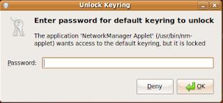 Change Keyring password