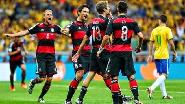 المانيا تسحق البرازيل و تذلها بسباعية و تتأهل لنهائي كاس العالم