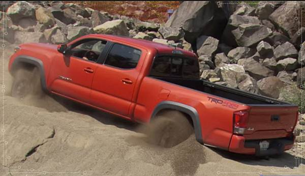 2016 Toyota Tacoma Unstuck