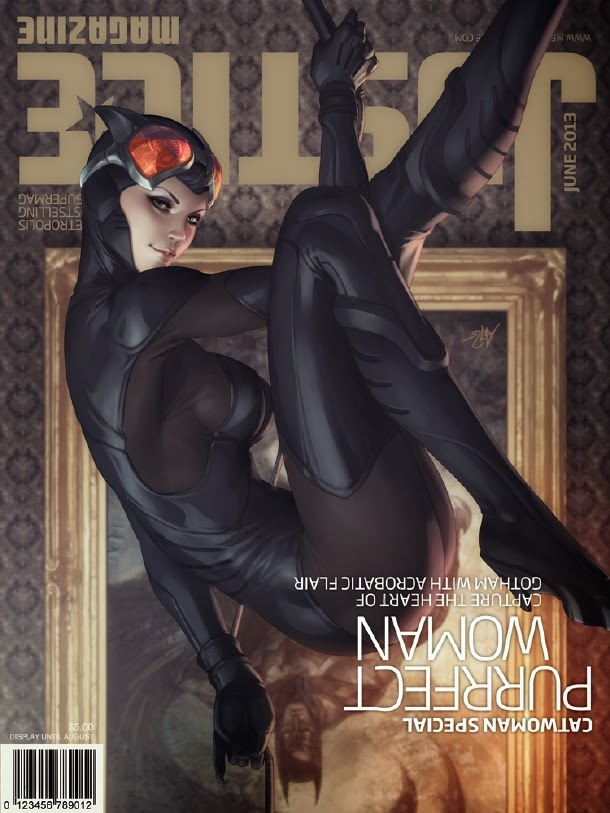 Catwoman Justice Magazine