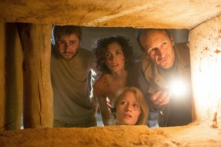 James Buckley, Christa Nicola, Denis O'Hare and Ashley Hinshaw in The Pyramid