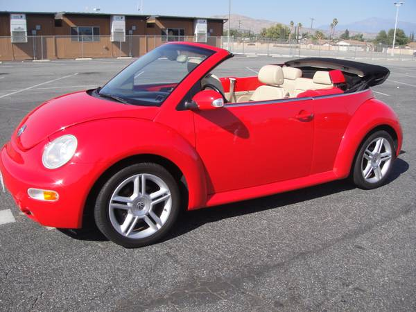 beetle turbo convertible  owner