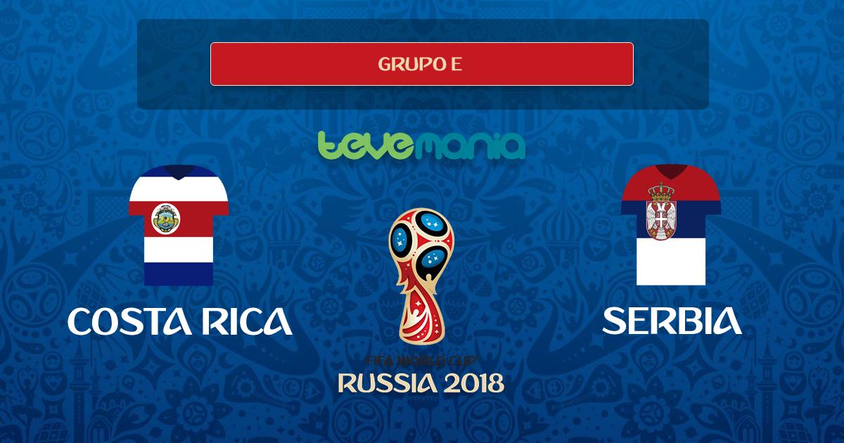 Costa Rica no pudo contra Serbia y perdió 1 a 0 en el debut
