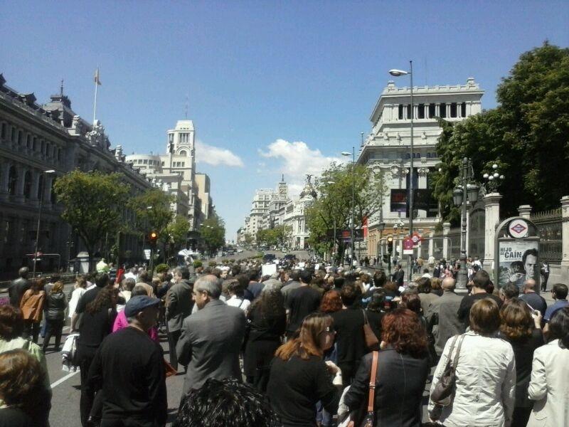 Cgt agencia para el empleo viernes de luto en el for Agencia de empleo madrid