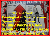 Patent text-pertama di dunia dari Nu-Prep100 US,EUpatent Iklan METRO,KOSMO dan lain- advertising