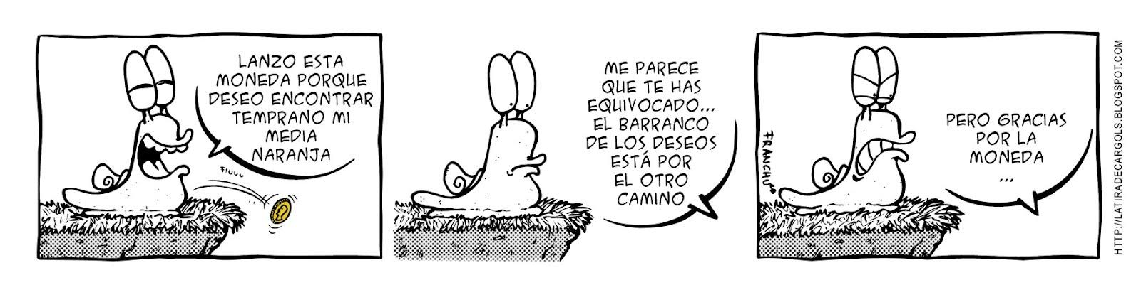 Tira comica 123 del webcomic Cargols del dibujante Franchu