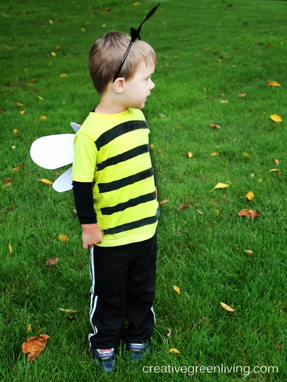 Bumble bee costume tutorial inexpensive no sew creative green do you like this post consider subscribing to our weekly newsletter solutioingenieria Choice Image