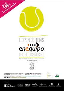 I OPEN DE TENIS ENEQUIPO