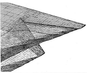 La estela del ala Smith.