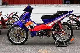 foto modifikasi motor honda absolute revo
