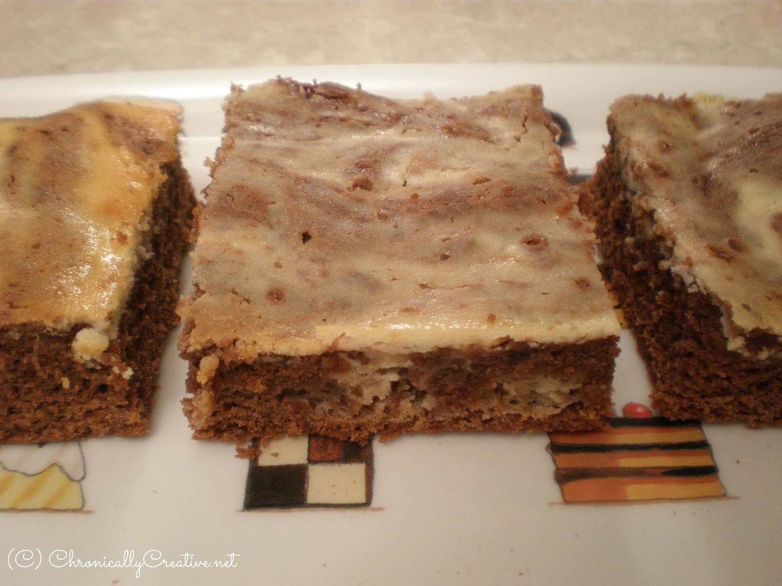 But it was the irresistible picture of the brownie slice in all of its ...
