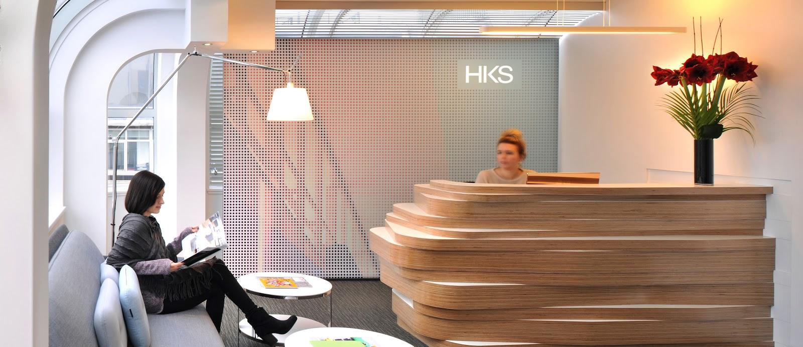 office backdrop. New Soho Office For HKS Architects Backdrop