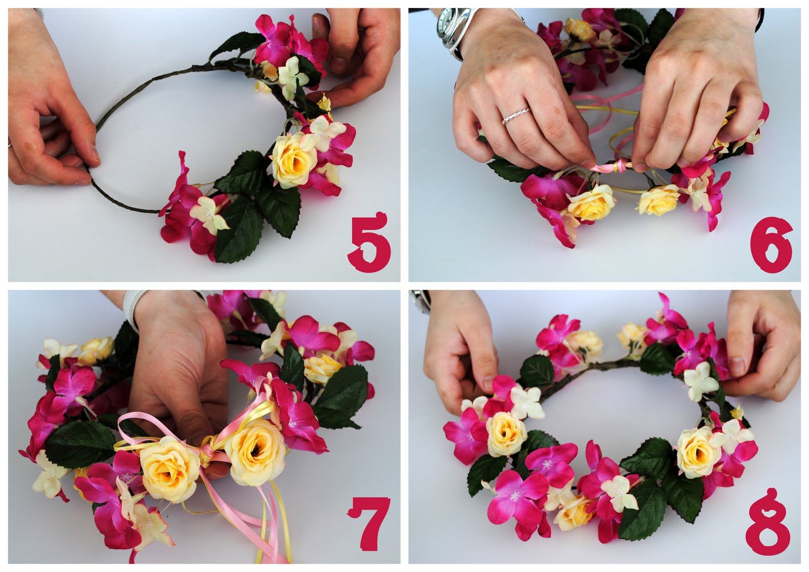 How to Make a Fairy Headband images