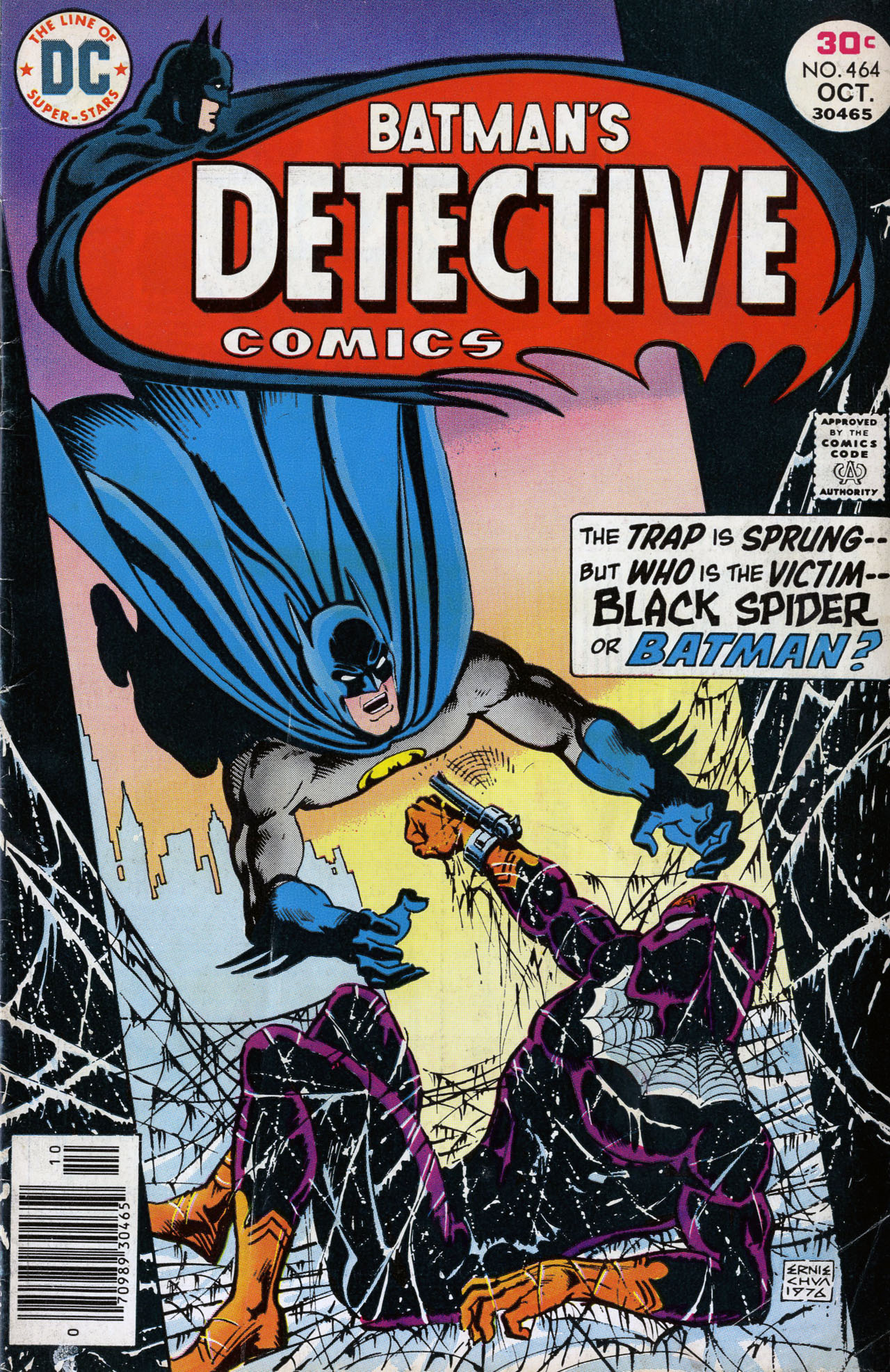 Detective Comics (1937) Issue #464 Page 1