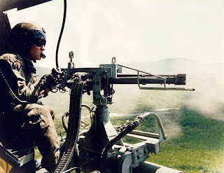 M134 Minigun - Gatling type machine gun Multi barrel firearm