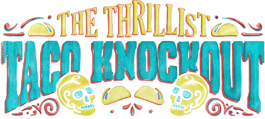 Thrillist Taco Knockout Logo