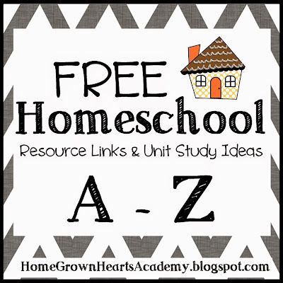 Free Homeschool Resources and Links